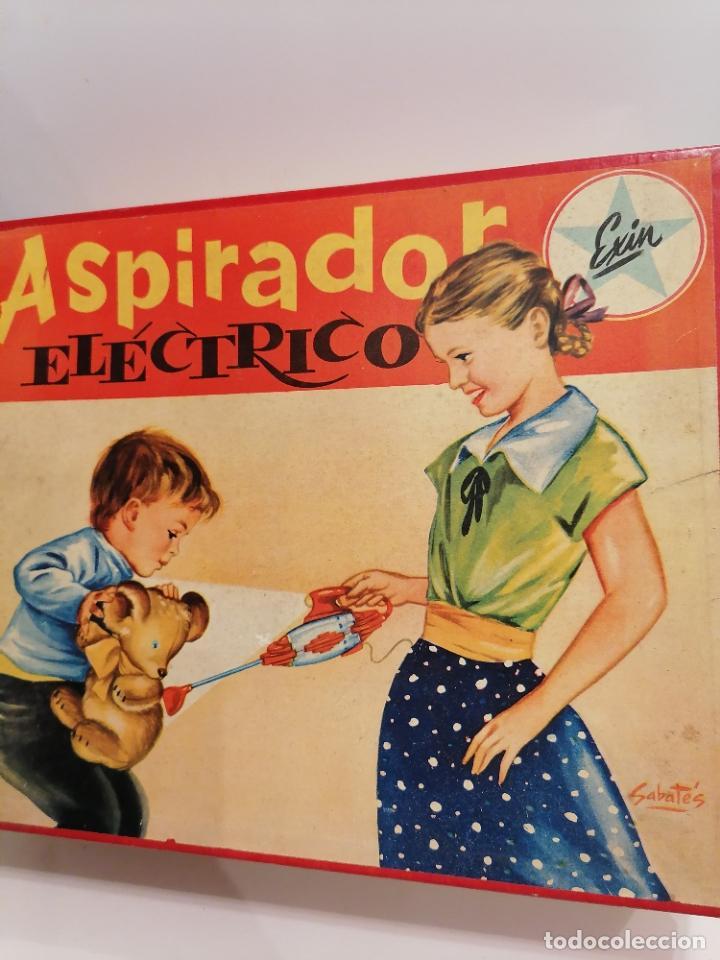 Juguetes antiguos Exin: ASPIRADOR ELECTRICO (460) - Foto 2 - 248559960