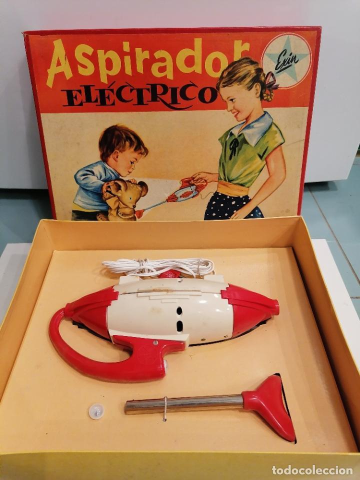 Juguetes antiguos Exin: ASPIRADOR ELECTRICO (460) - Foto 3 - 248559960