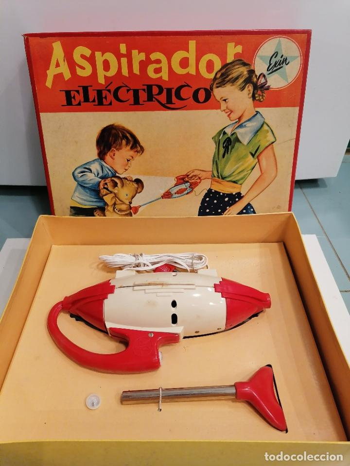 Juguetes antiguos Exin: ASPIRADOR ELECTRICO (460) - Foto 4 - 248559960