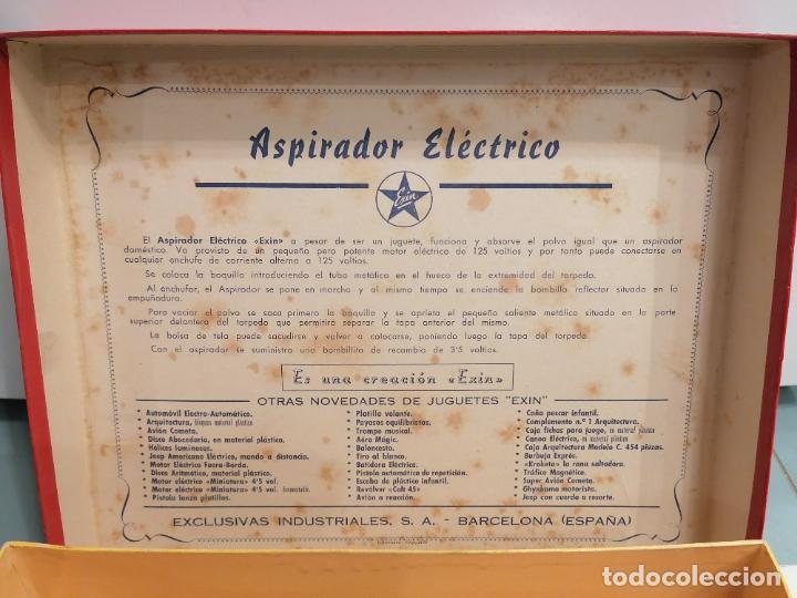 Juguetes antiguos Exin: ASPIRADOR ELECTRICO (460) - Foto 6 - 248559960