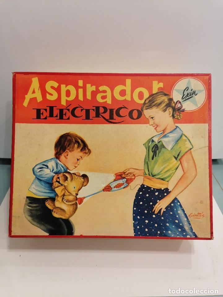 ASPIRADOR ELECTRICO (460) (Juguetes - Marcas Clásicas - Exin)