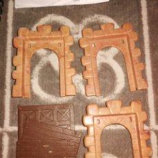 Juguetes antiguos Exin: 3 VENTANAS GRANDES EXIN CASTILLO. Lote 251170595