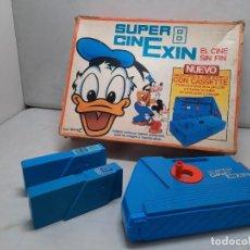 Brinquedos antigos Exin: EXIN SUPER 8 CINEXIN CON 2 CASSETTE, FUNCIONANDO!!. Lote 252507805