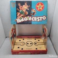 Juguetes antiguos Exin: EXIN BASQUET BALONCESTO. Lote 252520830