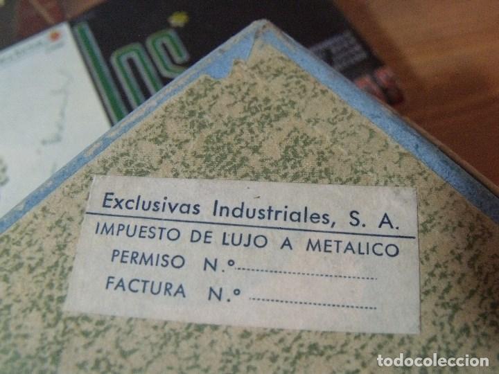 Juguetes antiguos Exin: ARQUITECTURA EXIN EN BLOQUES DE MATERIAL PLASTICO AÑOS 50-60 COMPLEMENTO Nº 1 - Foto 10 - 253470530