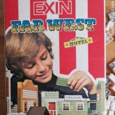 Juguetes antiguos Exin: CAJA EXIN WEST HOTEL. REF. 2041. PRÁCTICAMENTE COMPLETO PERO PUEDE FALTAR ALGUNA PIEZA.. Lote 253667665