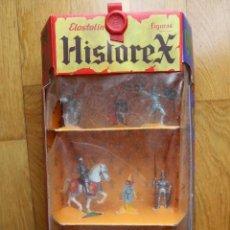 Giocattoli antichi Exin: HISTOREX EXIN CASTILLOS ELASTOLIN CABALLEROS REF.230. Lote 254127470