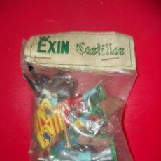 Juguetes antiguos Exin: BOLSA ANTIGUA EXIN CASTILLOS. Lote 254805445