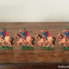 Juguetes antiguos Exin: LOTE CABALLOS EXIN CASTILLOS. Lote 257839205