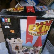 Juguetes antiguos Exin: ANTIGUO CASTILLO EXIN - EL CID - EN SU CAJA. Lote 258503760