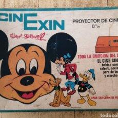 Juguetes antiguos Exin: CINEXIN, NARANJA, EN SU CAJA. Lote 258962385