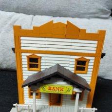Juguetes antiguos Exin: EXIN WEST BANCO. Lote 259901055