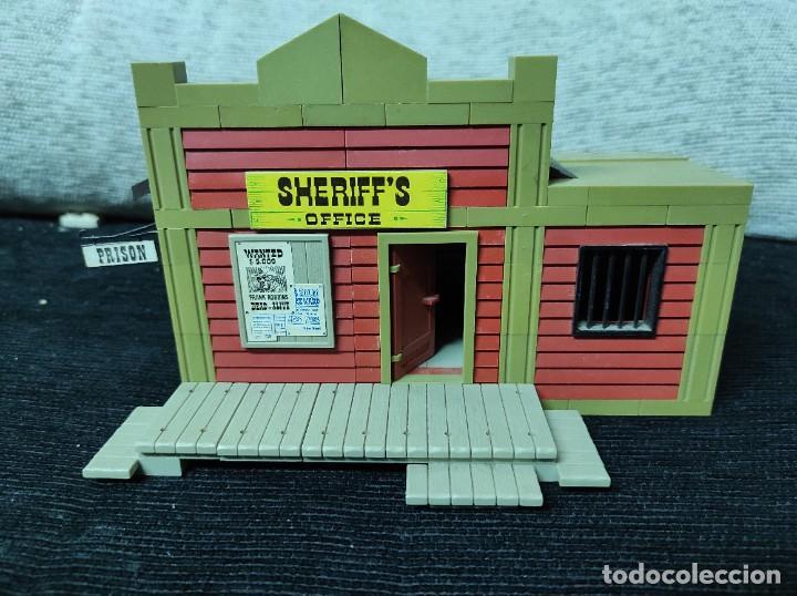 EXIN WEST SHERIFF (Juguetes - Marcas Clásicas - Exin)