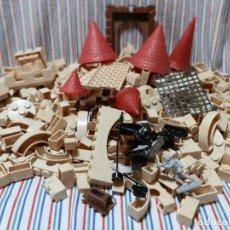 Giocattoli antichi Exin: GRAN LOTE EXIN CASTILLOS CASI 1.500 GR. Lote 260672400