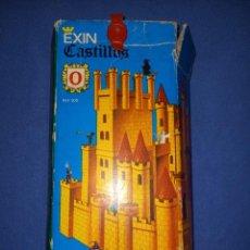 Juguetes antiguos Exin: EXIN CASTILLOS CAJA AZUL NÚMERO 0 AÑOS 60/70 ORIGINAL. Lote 261668985