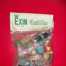 Juguetes antiguos Exin: BOLSA EXIN CASTILLOS. Lote 261919280