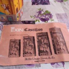 Juguetes antiguos Exin: EXIN CASTILLOS,N 0,SERIE AZUL.1973.. Lote 262592650