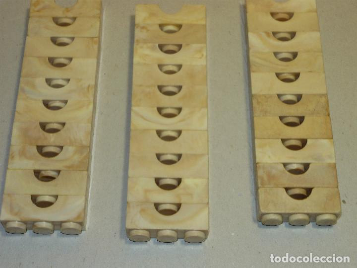 Juguetes antiguos Exin: 33 PUENTES DE 3 PUNTOS EXIN LINES - Foto 3 - 263055150