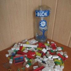 Brinquedos antigos Exin: EXIN BLOK ARQUITECTURE , BOTE ANTIGUO DE PIEZAS. Lote 263556710