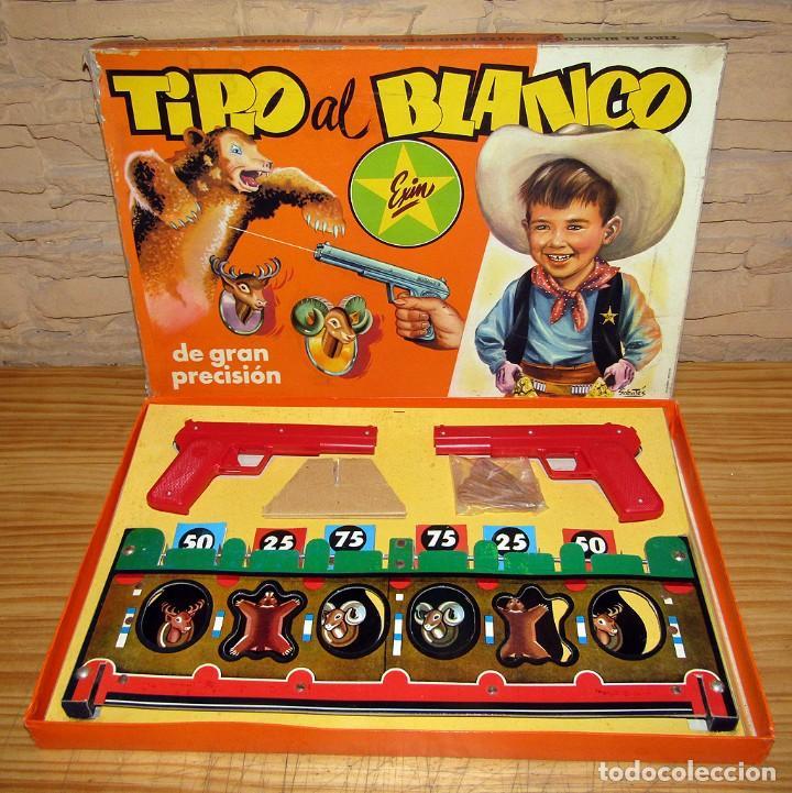 Juguetes antiguos Exin: TIRO AL BLANCO, DE EXIN - ANTIGUO JUEGO DE PUNTERÍA - EN SU CAJA ORIGINAL - AÑO 1967 - Foto 7 - 267607509