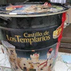 Jouets anciens Exin: OCASION COLECCIONISTAS ! CUBO BIDON LATA CASTILLO DE LOS TEMPLARIOS EXIN POPULAR DE JUGUETES. Lote 267624279