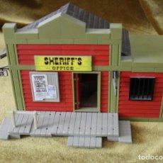 Brinquedos antigos Exin: EXIN WEST, SHERIFF'S OFFICE, COMPLETO, CON HOJA DE INSTRUCCIONES. Lote 268449419