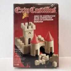 Brinquedos antigos Exin: EXIN CASTILLOS 70 PIEZAS REF 0198. VINTAGE AÑOS 80. NUEVO.. Lote 268612864