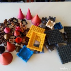 Brinquedos antigos Exin: LOTE DE PIEZAS EXINS CASTILLOS Y VARIOS. Lote 268819239