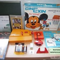 Juguetes antiguos Exin: CINEXIN,EL CINE SIN FIN PROYECTOR COMPLETO 1973 FUNCIONANDO + REGALOS!. Lote 269074398