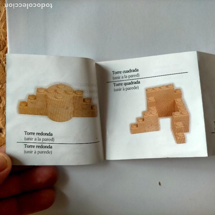Juguetes antiguos Exin: exin castillos desplegable de instrucciones - Foto 3 - 269274873