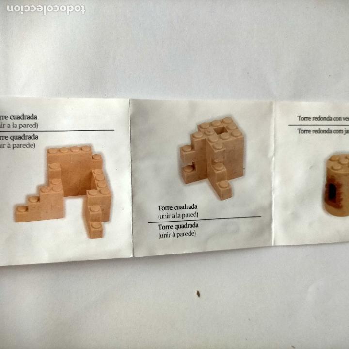 Juguetes antiguos Exin: exin castillos desplegable de instrucciones - Foto 5 - 269274873