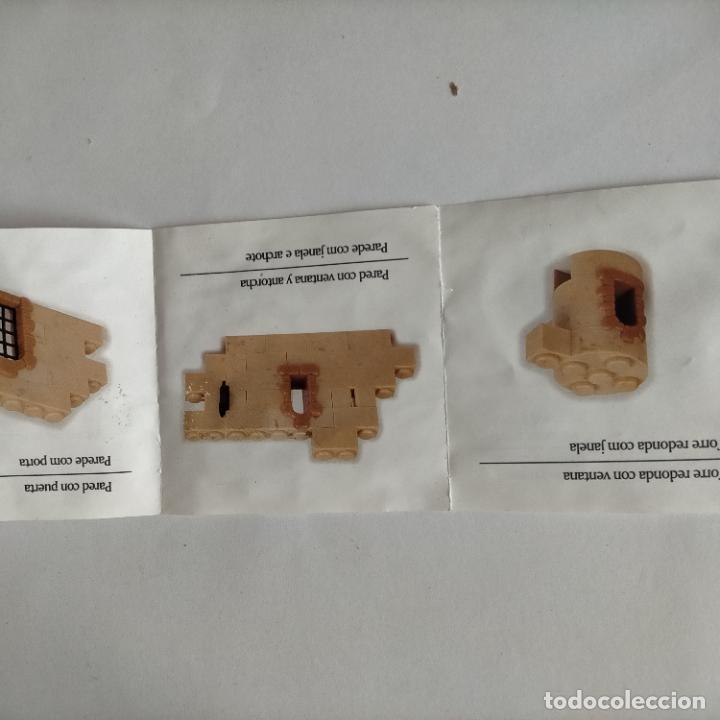 Juguetes antiguos Exin: exin castillos desplegable de instrucciones - Foto 6 - 269274873