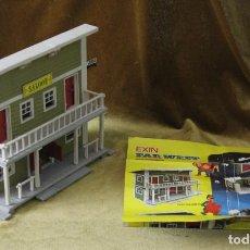 Brinquedos antigos Exin: EXIN WEST, SALOON, COMPLETO, CON HOJA DE INSTRUCCIONES. Lote 269283503