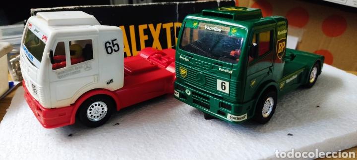 Juguetes antiguos Exin: Lote camiones Mercedes exin - Foto 7 - 269293493
