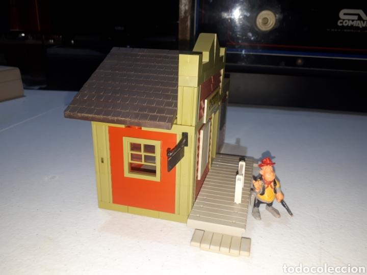 Juguetes antiguos Exin: EXIN FAR WEST OFICINA DEL SHERIFF COMPLETA ORIGINAL - Foto 5 - 269454733