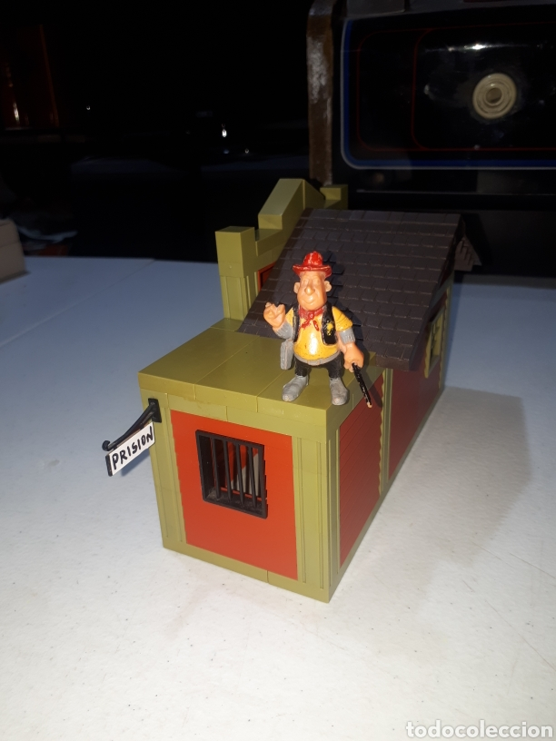 Juguetes antiguos Exin: EXIN FAR WEST OFICINA DEL SHERIFF COMPLETA ORIGINAL - Foto 6 - 269454733