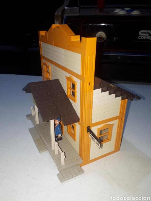 Juguetes antiguos Exin: EXIN FAR WEST FEDERAL BANK COMPLETO LEER DESCRIPCION - Foto 3 - 269456358