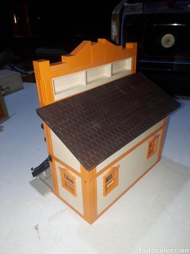Juguetes antiguos Exin: EXIN FAR WEST FEDERAL BANK COMPLETO LEER DESCRIPCION - Foto 4 - 269456358