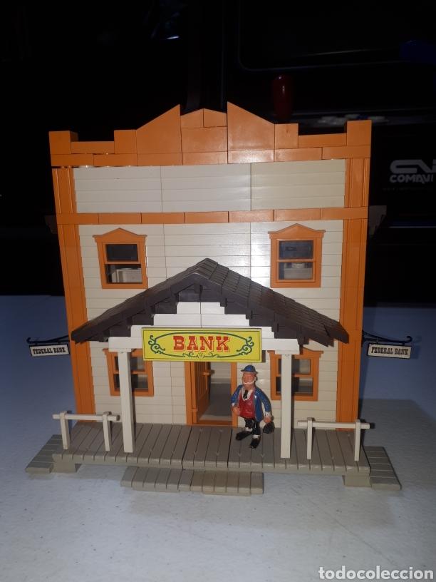 Juguetes antiguos Exin: EXIN FAR WEST FEDERAL BANK COMPLETO LEER DESCRIPCION - Foto 5 - 269456358