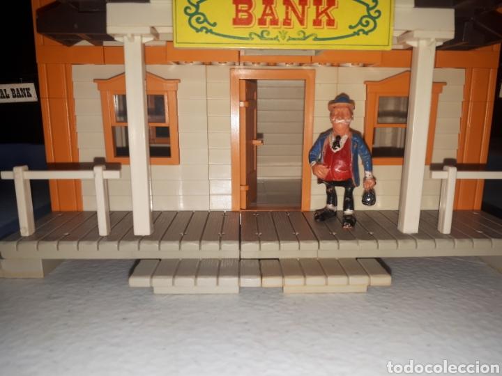 Juguetes antiguos Exin: EXIN FAR WEST FEDERAL BANK COMPLETO LEER DESCRIPCION - Foto 6 - 269456358