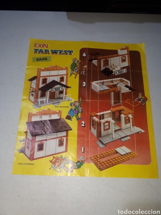 Juguetes antiguos Exin: EXIN FAR WEST FEDERAL BANK COMPLETO LEER DESCRIPCION - Foto 8 - 269456358