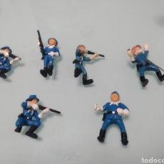 Brinquedos antigos Exin: RESERVADO EXIN WEST FIGURAS CABALLERIA DESTACAMENTO.. Lote 270254128