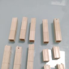 Brinquedos antigos Exin: PIEZAS EXIN WEST BLANCAS PILARES.. Lote 270372758