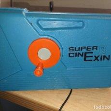 Juguetes antiguos Exin: CINEXIN CIN EXIN CINE EXIN AZUL +4PELICULAS. Lote 270948453
