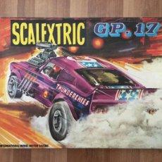 Brinquedos antigos Exin: CAJA CIRCUITO COCHE SCALEXTRIC EXIN GP-17. Lote 272346543
