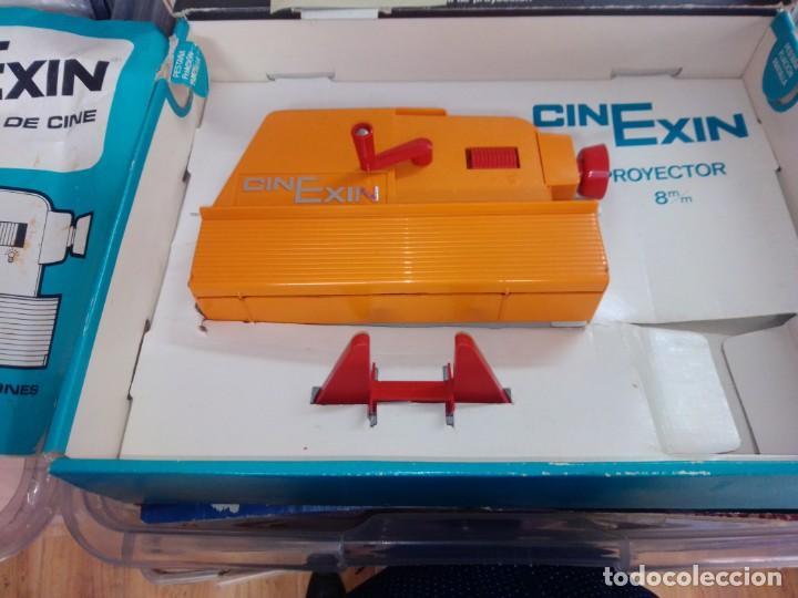 Juguetes antiguos Exin: CINEXIN AÑOS 70- COMPLETO-- NO PROBADO -- COMO SE VE EN FOTOS -- CON CAJA - Foto 4 - 275752953