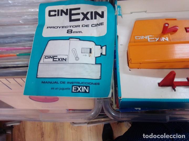 Juguetes antiguos Exin: CINEXIN AÑOS 70- COMPLETO-- NO PROBADO -- COMO SE VE EN FOTOS -- CON CAJA - Foto 5 - 275752953