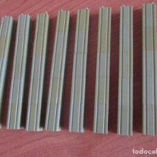 Juguetes antiguos Exin: EXIN WEST AÑOS 70 : LOTE 40 UNIDADES PILARES DE 2X1 A LO ALTO VERDES ( EXIN CASTILLOS ). Lote 279326563