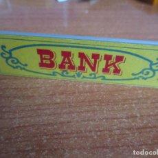 Juguetes antiguos Exin: EXIN WEST AÑOS 70 : CARTEL BANK ( EXIN CASTILLOS ). Lote 279498018