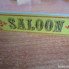 Juguetes antiguos Exin: EXIN WEST AÑOS 70 : CARTEL SALOON ( EXIN CASTILLOS ). Lote 279498218